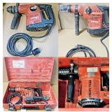 Sample of Hilti Power Tools