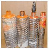 Hili wet coring bits
