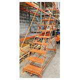 Rolling Safety Ladder