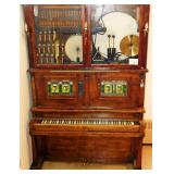 Antique Coin-Op Melodeon / Orchestrion / Player Piano