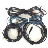 Lot of 4 XLR Microphone Cables