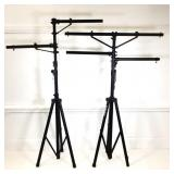 2 On Stage Stands Heavy Duty Lighting Trees