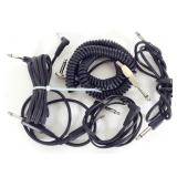 """Lot of 5 1/4"""" Lightweight Patch Cords"""