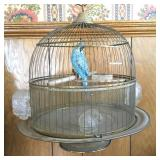 Vintage Hendryx Bird Cage with Stand