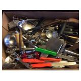 Cabinet Lot, Various Kitchen Items, Utensils,