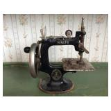 Antique Singer Sewhandy Sewing Machine