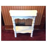 Small Table, Painted White