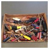 Large Lot of Screwdrivers