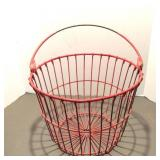 Wire Basket with Bail Wire Handle