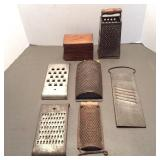 Cheese Graters, Slaw Cutter, Box