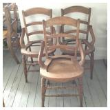 3 Antique Side Chairs