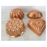 4 Copper Molds