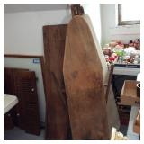 3 Antique Wood Ironing Boards