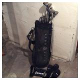 Nike Golf Bag/ Trident Clubs and Misc Balls