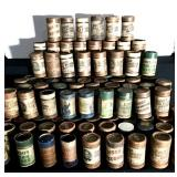Large Lot of Edison Cylinder Record Rolls