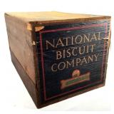 National Biscuit Company Wood Crate