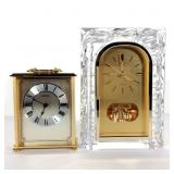 2 SEIKO Mantle Clocks