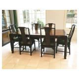 Century Chin Hua Collection Table and 6 Chairs