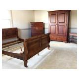 Lexington Old Salem Collection 4pc Bedroom Suite