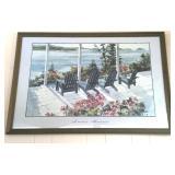 "Framed Print ""Summer Memories"" Mary Delyht-Arndt"