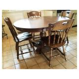 Buccaneer Colonial Kitchen Table and 4 Chairs