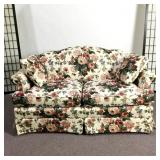 Temple Inc. Floral Love Seat