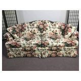 Temple Inc. Floral Sofa