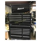 HOMAK LARGE STACKABLE TOOLBOX 40W 52T