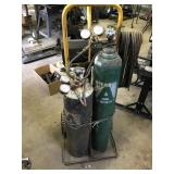 ACETYLENE TORCH KIT WITH CART