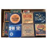 10 Vintage Empty Ammo Boxes