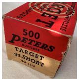 Peters Target 22 Short Ammo
