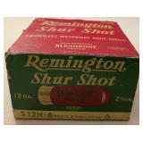 Winchester 12 ga./Remington 12 ga. Shur Shot Ammo