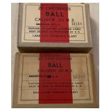 Ball  .30  M2  Ammo