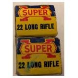Western Super-X  22 Long Rifle  Ammo