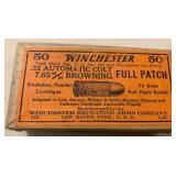 Winchester  .32  7.65mm   Ammo