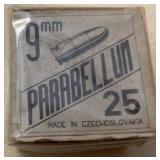 Parabellun  9 mm  Ammo