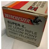 Winchester  Super-X  22 Long Rifle  Ammo