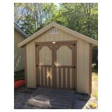 Storage shed to be removed