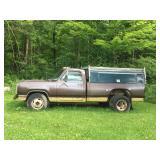 1974 Dodge power wagon 1 ton daully