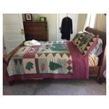 sliegh bed