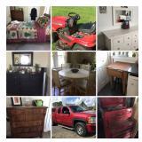Craftman tools, furniture, mower all clean