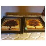 Lots of framed prints