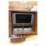 Flat screen TV & DVD player
