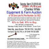 29th Annual Charles White Farm Auction