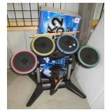 PlayStation rock band drum set.
