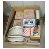 Large group of various decorative boxes, Beverly