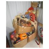 (3) Boxes of Halloween items including