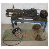 Dunlap metal cutter with blades. Note: Comes with
