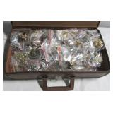 Large collection of costume jewelry including