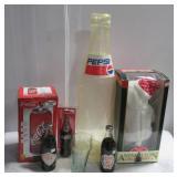 Various Coca-Cola collectibles including